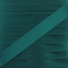 Satin ribbon - myrtle green