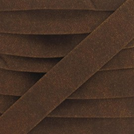 Imitation buckskin bias binding - butterscotch