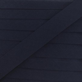 Multi-purpose-fabric Bias binding 20mm - navy blue