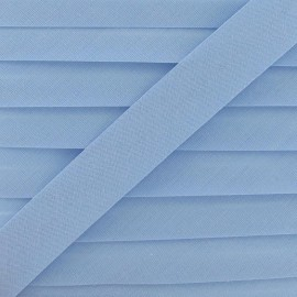 Multi-purpose-fabric Bias binding 20mm - light blue