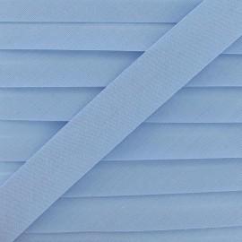 Biais Tout Textile ciel 20 mm