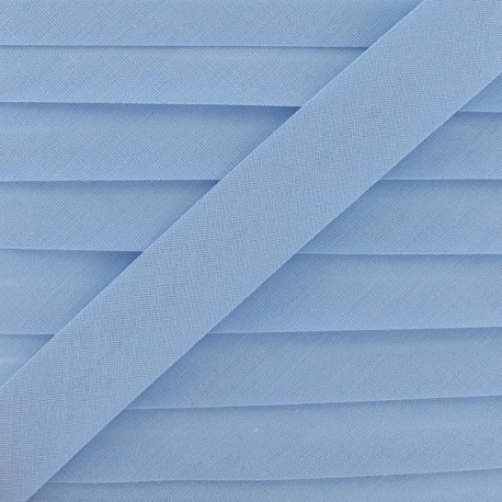 Multi-purpose-fabric Bias binding 20mm - light blue