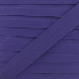 Biais Tout textile violet 20 mm