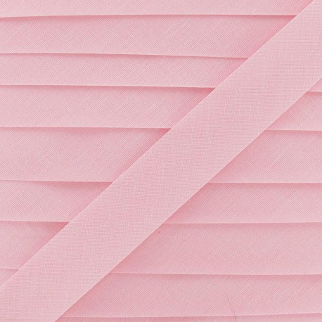 Multi-purpose-fabric Bias binding 20mm - pink