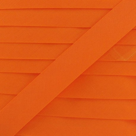 Multi-purpose-fabric Bias binding 20mm - orange