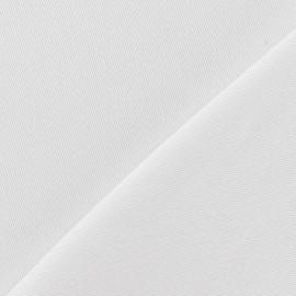 Tissu jeans 400gr/ml blanc x 10cm