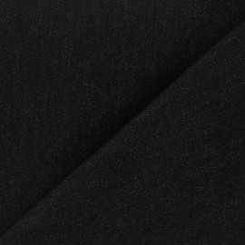 Tissu jeans 400gr/ml noir x 10cm