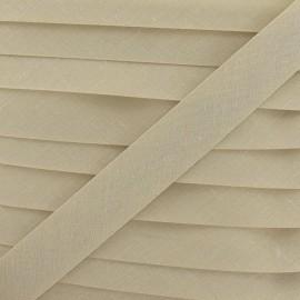 Biais Tout Textile sable 20 mm