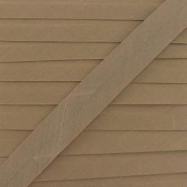 Multi-purpose-fabric Bias binding 20mm - chestnut