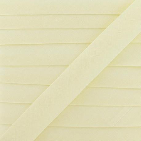 Multi-purpose-fabric Bias binding 20mm - ecru