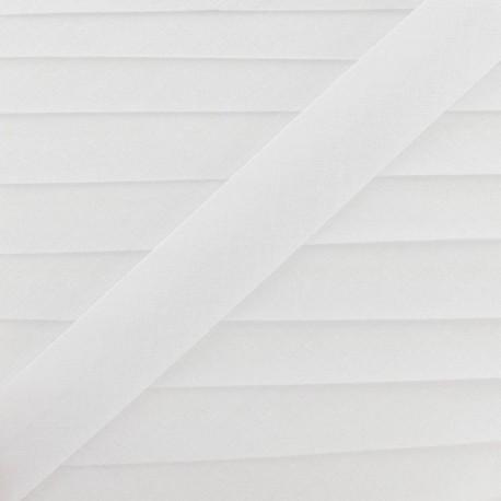 Biais Tout Textile blanc 20 mm