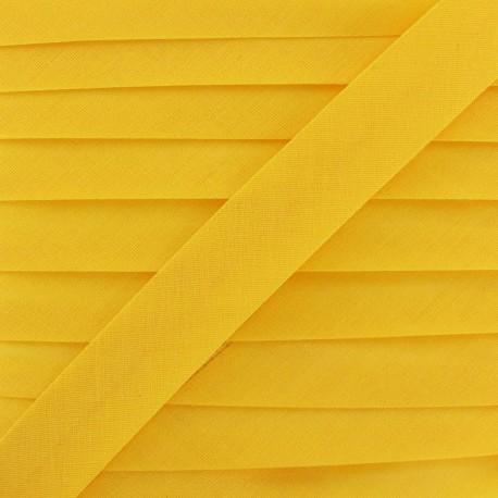 Biais Tout Textile ocre jaune 20 mm