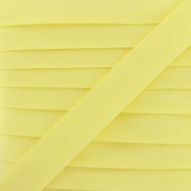 Multi-purpose-fabric Bias binding 20mm - maize