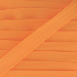 Bias binding ribbon, plain - fluorescent orange