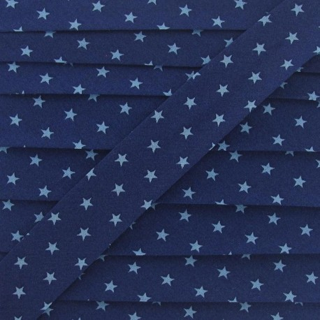 Biais Star Bleu intense A