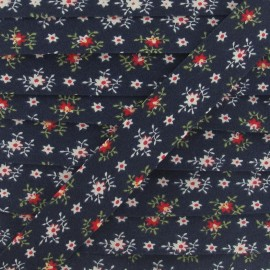 Bias Binding, Edelweiss - navy