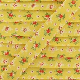 Biais edelweiss jaune