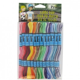 """Prism 6 x 6 m Craft Thread """"Game Day"""" Non Divisible - multicolored"""
