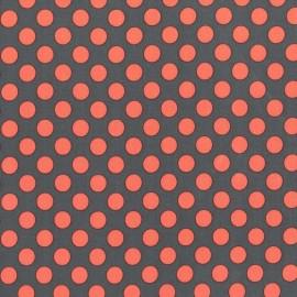 Tissu Ta Dot Coral x 10cm