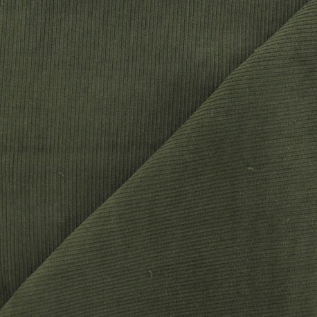 Milleraies velvet fabric - kakhi 300gr/ml x10cm