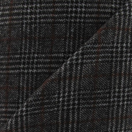 tissu lainage prince de galles x10cm ma petite mercerie. Black Bedroom Furniture Sets. Home Design Ideas