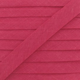 Multi-purpose-fabric Bias binding 20mm - raspberry