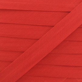 Multi-purpose-fabric Bias binding 20mm - red