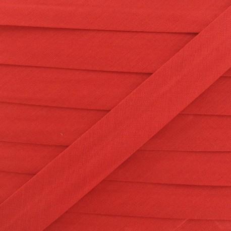 Biais Tout Textile rouge 20 mm