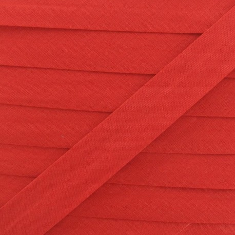 Multi-purpose-fabric Bias binding 20mm - red