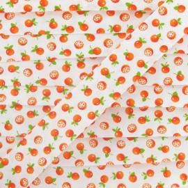 Cotton bias binding, mandarines - orange