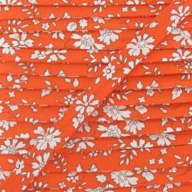 Biais Liberty Capel orange 10mm