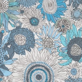 Tissu Liberty small Suzanna bleu E x 10cm
