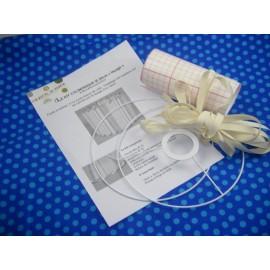 Cylindrique 20 cm laçage