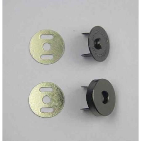 Fermoir magnétique viel or 14mm