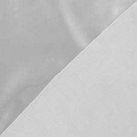 Vinyl Fabric - Silver x 10cm