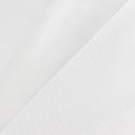 Tissu vinyl écru x 10cm