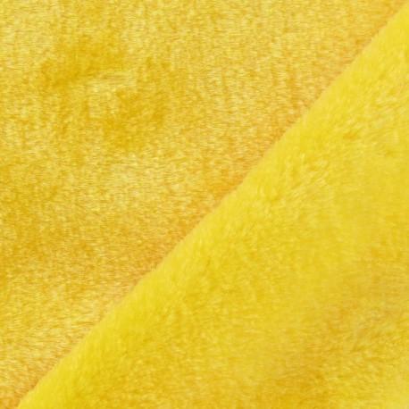 Fourrure ours jaune x 10cm
