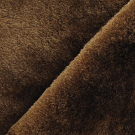 Fourrure ours marron x 10cm