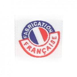 """Etiquette """"Fabrication Française"""""""