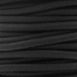 Elastique cable 5 mm noir