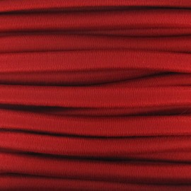 Elastic cable 5 mm - red