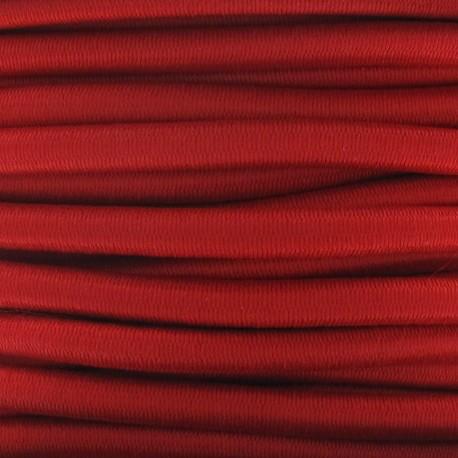 Elastique cable 5 mm rouge