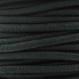 Elastique cable 5 mm vert foncé