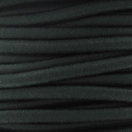 Elastic cable 5 mm - dark green