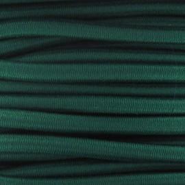 Elastique cable 5 mm vert prairie