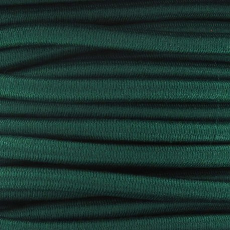 Elastic cable 5 mm - meadow green