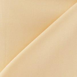 Tissu Coton uni - pêche x 10cm