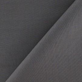Tissu Coton uni gris x 10cm