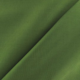 Tissu Coton uni avocat x 10cm