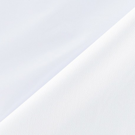 Tissu vinyl blanc x 10cm
